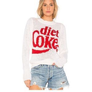 WILDFOX Diet Coke Knit Sweater